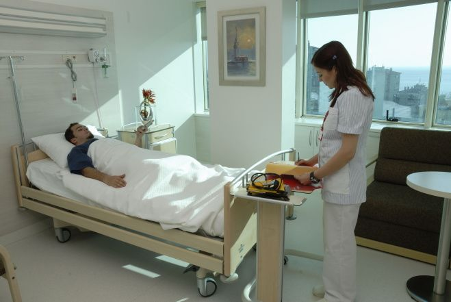 Patient's room Istanbul